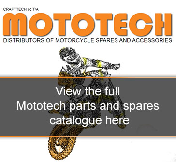 Motorcycle spare parts for sale online - Mototech parts and spares
